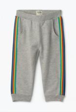 Hatley Retro Stripe Grey Baby Joggers
