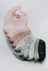 Loulou Lollipop Silicone Bib Printed