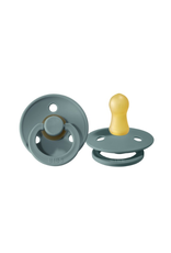 BIBS Rounded Natural Rubber Pacifier, 2 Pack