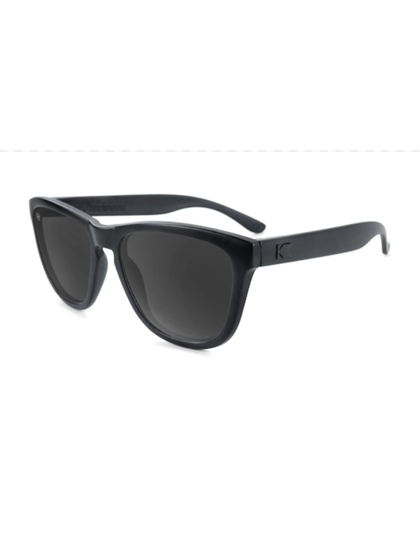 Knockaround Premiums Polarized Black on Black / Smoke