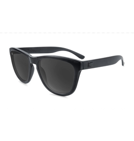 Knockaround Premiums Polarized Black on Black / Smoke