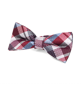 Appaman Bow Tie in Rhumba Blue Plaid
