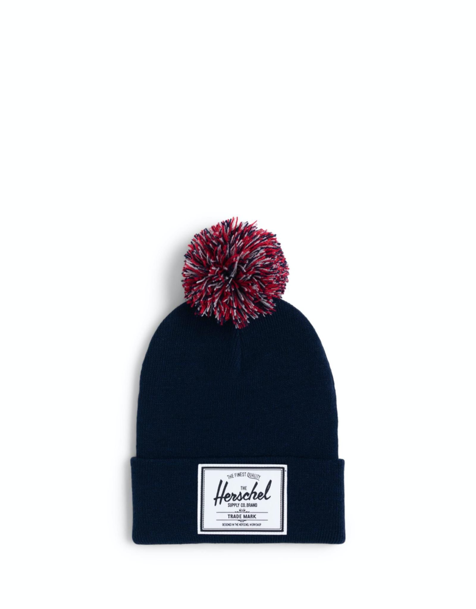 Herschel Supply Co. Abbott Pom Youth Beanie | in Peacoat
