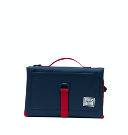 Herschel Supply Co. Sprout Change Mat, Navy / Red