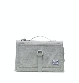 Herschel Supply Co. Sprout Change Mat, Light Grey Crosshatch