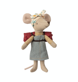 Maileg Hiker Mouse in Dress
