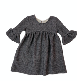 Vignette Paige Dress in Charcoal