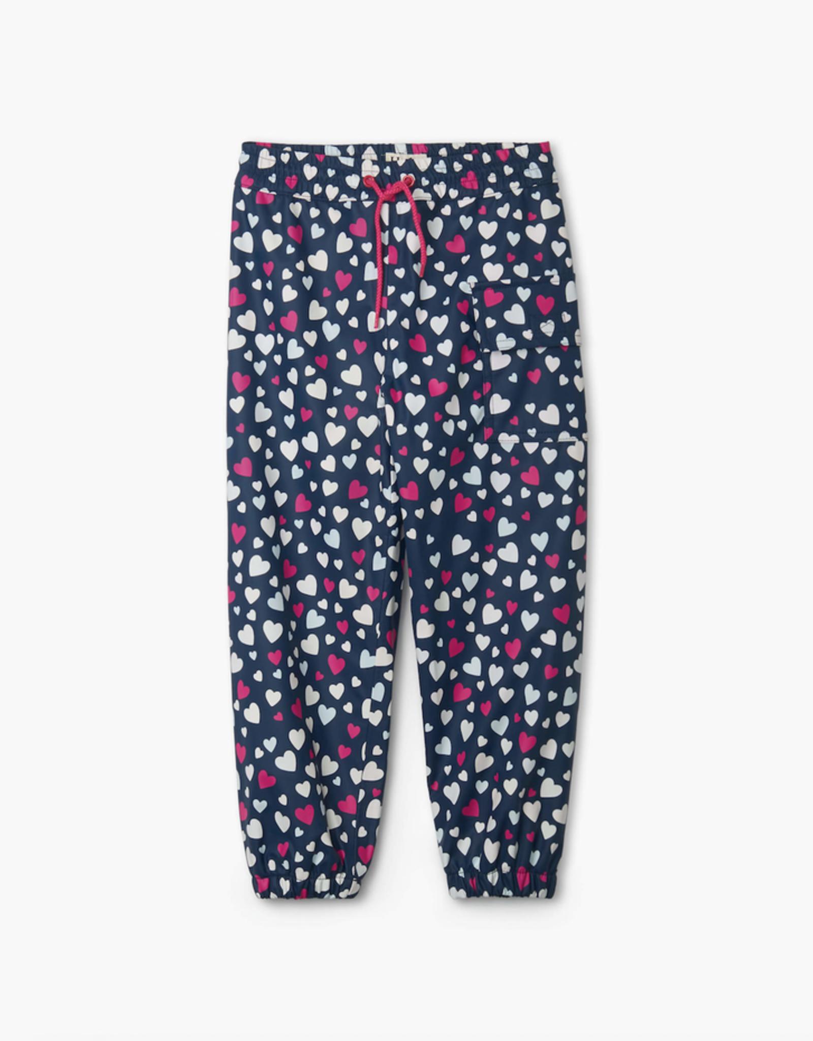 Hatley Confetti Hearts Colour Changing Splash Pants
