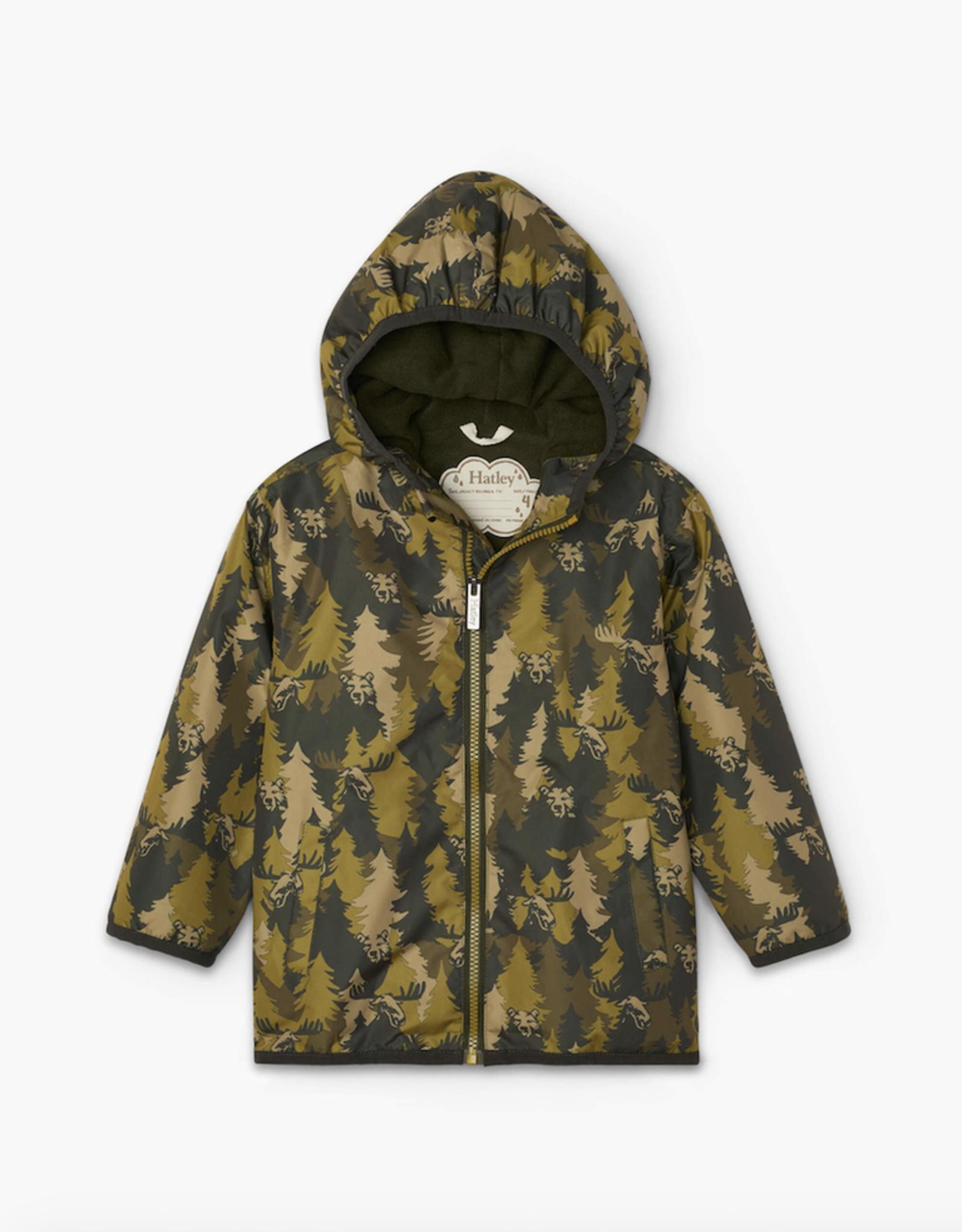 Hatley Forest Camo Microfiber Rain Jacket