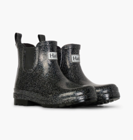Hatley Starry Night Glitter Ankle Rain Booties