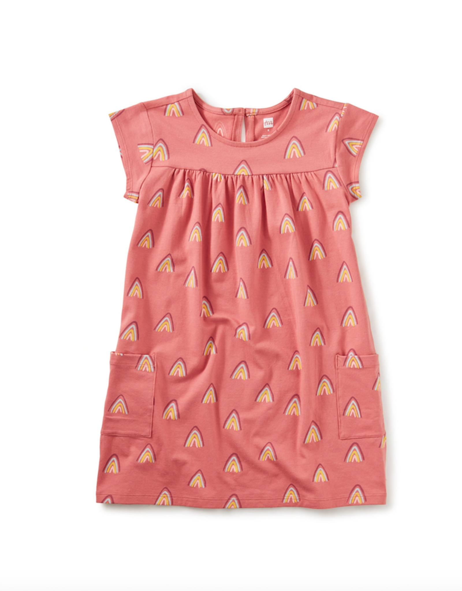Tea Collection Rainbow Mountain Pocket Dress