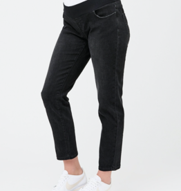 Ripe Maternity Jamie Girlfriend Jean in Black