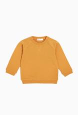 "''MIiles Basic"" Mustard Sweatshirt"
