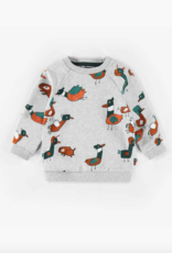 Souris Mini Grey Sweater, Print