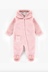 Pink  Plush One Piece for Girls