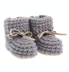 Beba Bean Sweater Mocs Grey