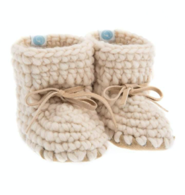 Beba Bean Sweater Mocs Ivory