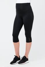 Ripe Maternity Active Over Tummy Knee Legging in Black