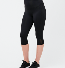 Ripe Maternity Active Over Tummy Knee Legging in Black