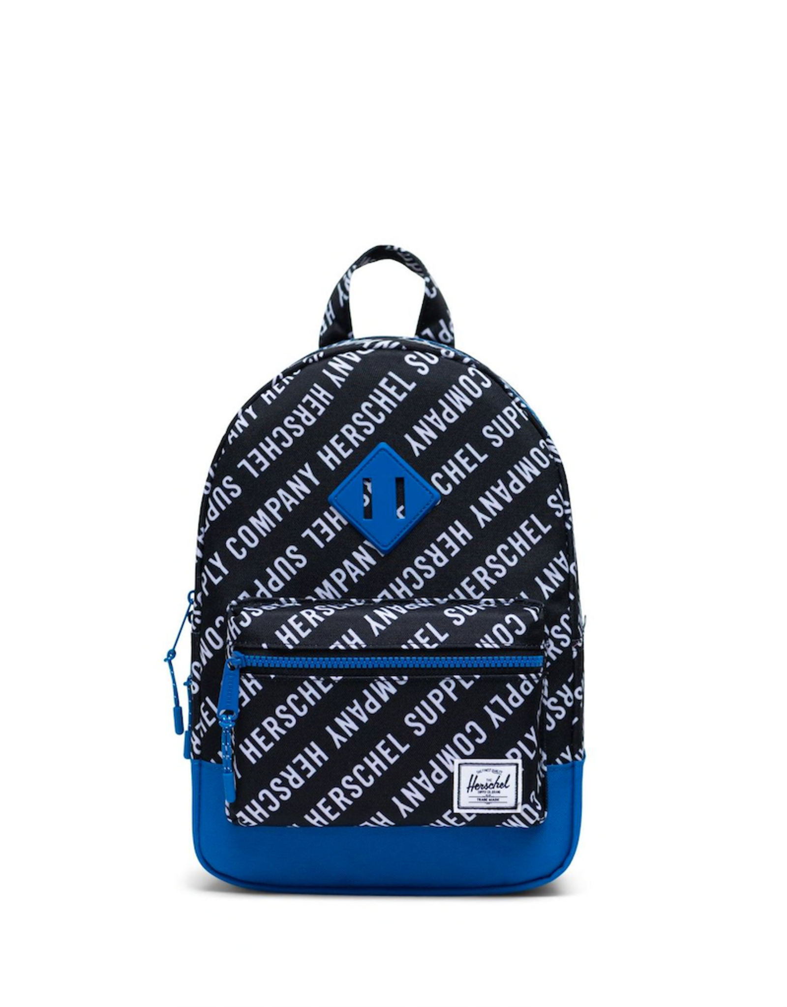Herschel Supply Co. Heritage Backpack | Kids, Roll Call Black/White/Lapis Blue, 9L