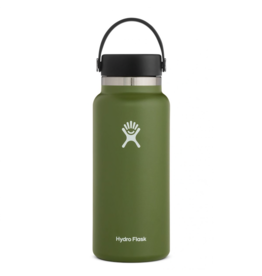Hydro Flask 32 oz Wide Mouth Flex Cap Bottle in Olive