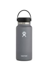 Hydro Flask 32 oz Wide Mouth Flex Cap Bottle in Stone