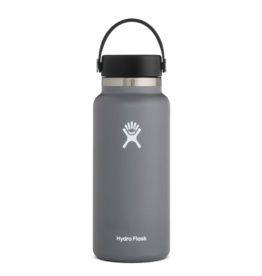 Hydro Flask 32 oz Wide Mouth Flex Cap Bottle in Stone
