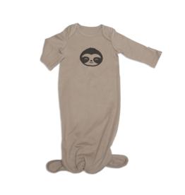 Silkberry Baby Silkberry Baby, Organic Cotton Knotted Sleeper, Bear Cub