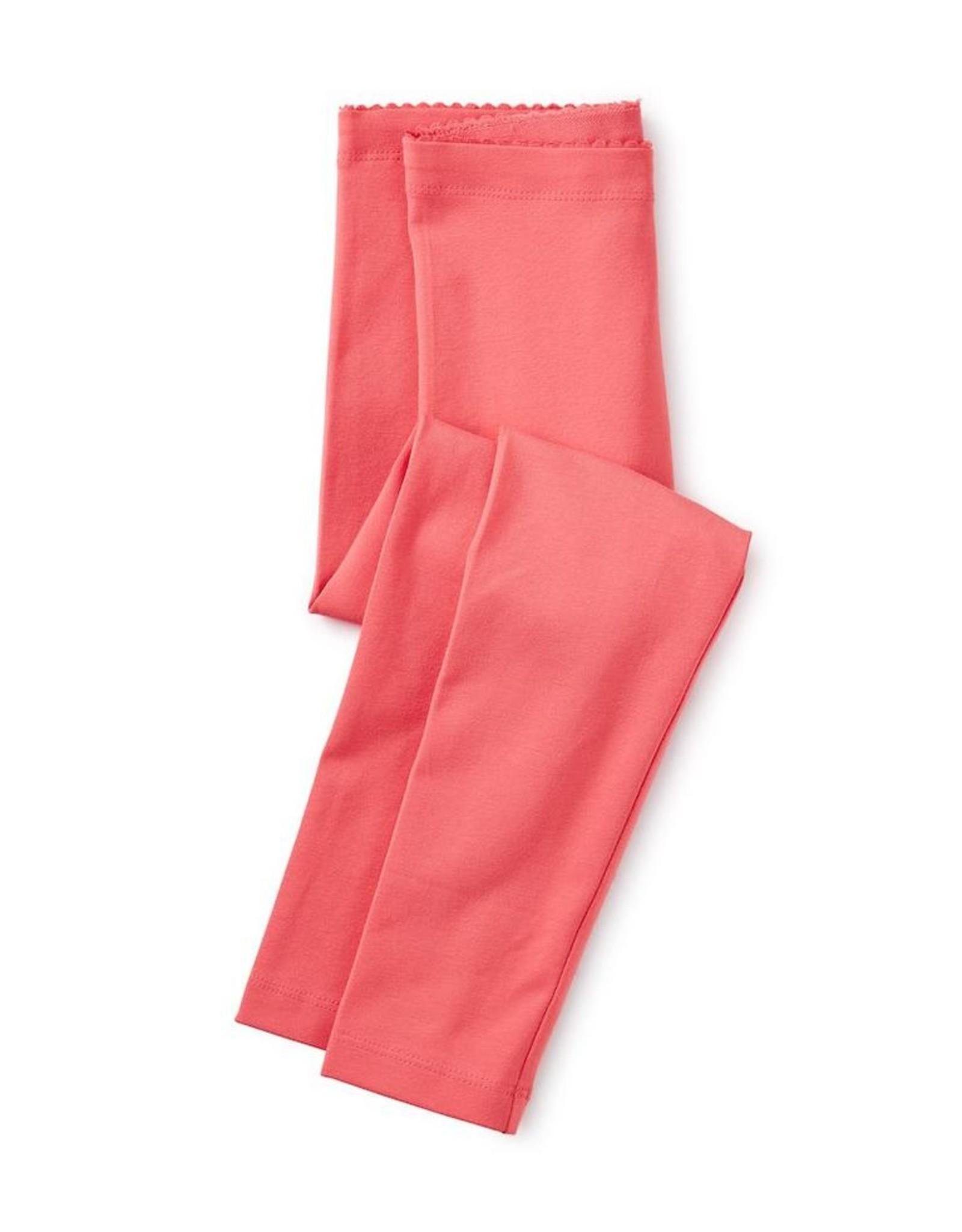 Tea Collection Flat Neon Rosa Solid Leggings