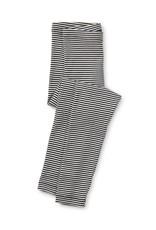 Tea Collection Jet Black Striped Leggings