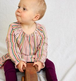 Tea Collection Striped Peasant Baby Dress