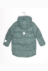 Go Soaky Tiger Eye Unisex Puffer Jacket In Green Bay All Over Print