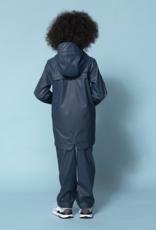 Go Soaky Lazy Geese Raincoat in Dark Petrol