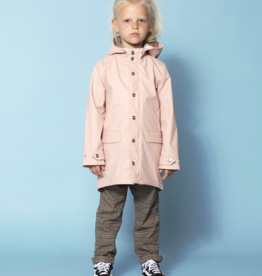 Go Soaky Lazy Geese Raincoat Lined Raincoat in Evening Pink
