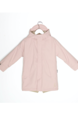 Go Soaky Dessert Fox Waterproof Lined Parka in Evening Pink