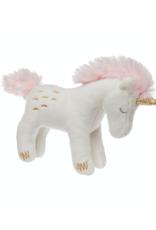 "Petunia Pickle Bottom Twilight Baby Unicorn Rattle - 5"""