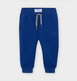 Mayoral Long Baby Pants in Blue Pop
