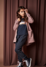 Creamie Long Zip Hoodie Twilight Mauve