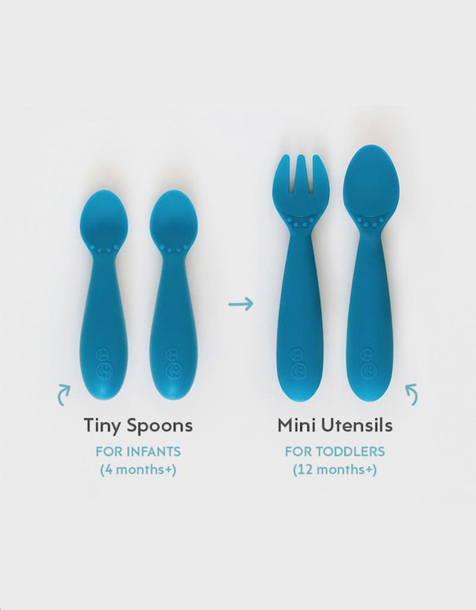 EZPZ Mini Utensils (Fork + Spoon)