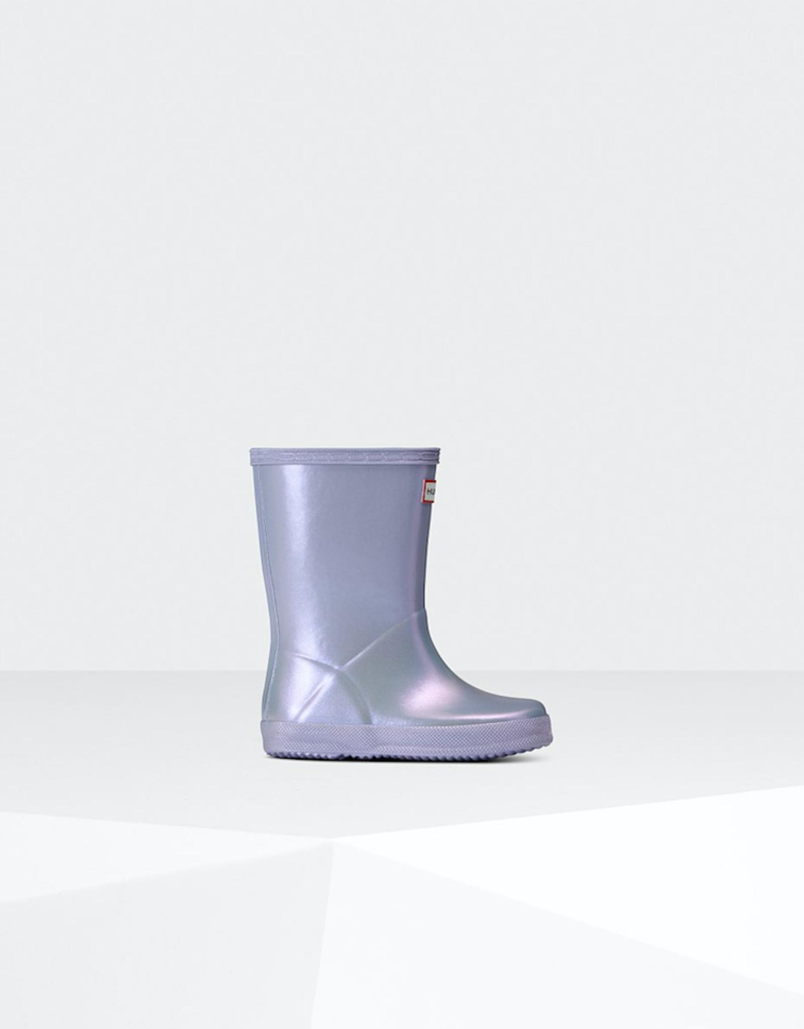 Hunter Boots Original Kids First Classic Nebula Rain Boots: Pulpit Purple