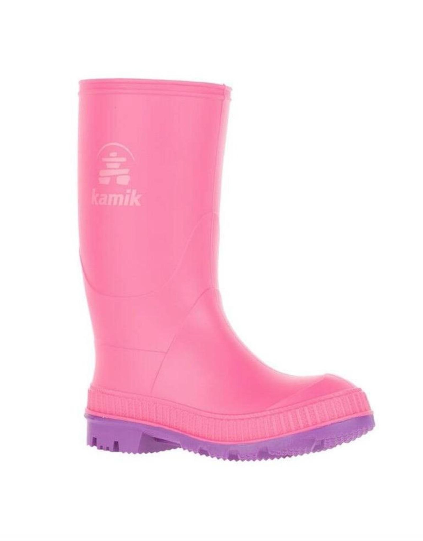 Kamik STOMP Kids Rainboots, Pink