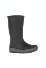 Kamik RIPTIDE Kids Rain Boot Black & Charcoal