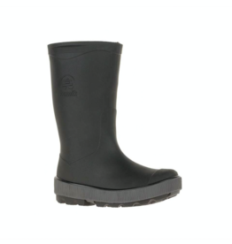 Kamik RIPTIDE Kids Rain Boot Black & Charcoal