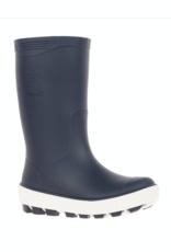 Kamik RIPTIDE Kids Rain Boot Navy & White