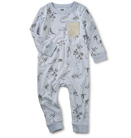 Tea Collection Peruvian Pals Printed Pocket Romper