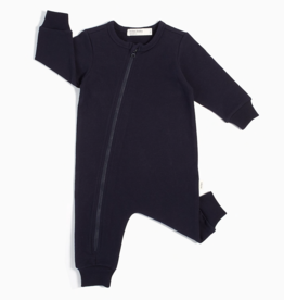 """Miles Basic"" Navy Baby Playsuit"