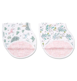Aden + Anais forest fantasy classic burpy bibs 2 pack