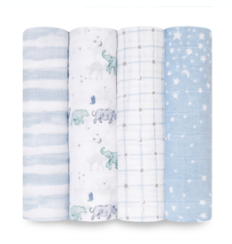 "Aden + Anais rising star 47"" classic swaddle set 4-pack"