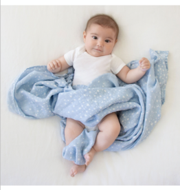 "Aden + Anais rising star-bright star 47"" Single classic swaddle"