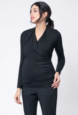 Seraphine Melanie Cross Over Maternity & Nursing Top